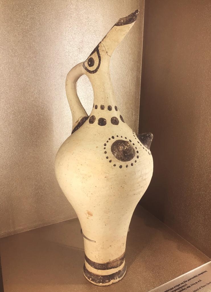 Ancient Greek history on santorini