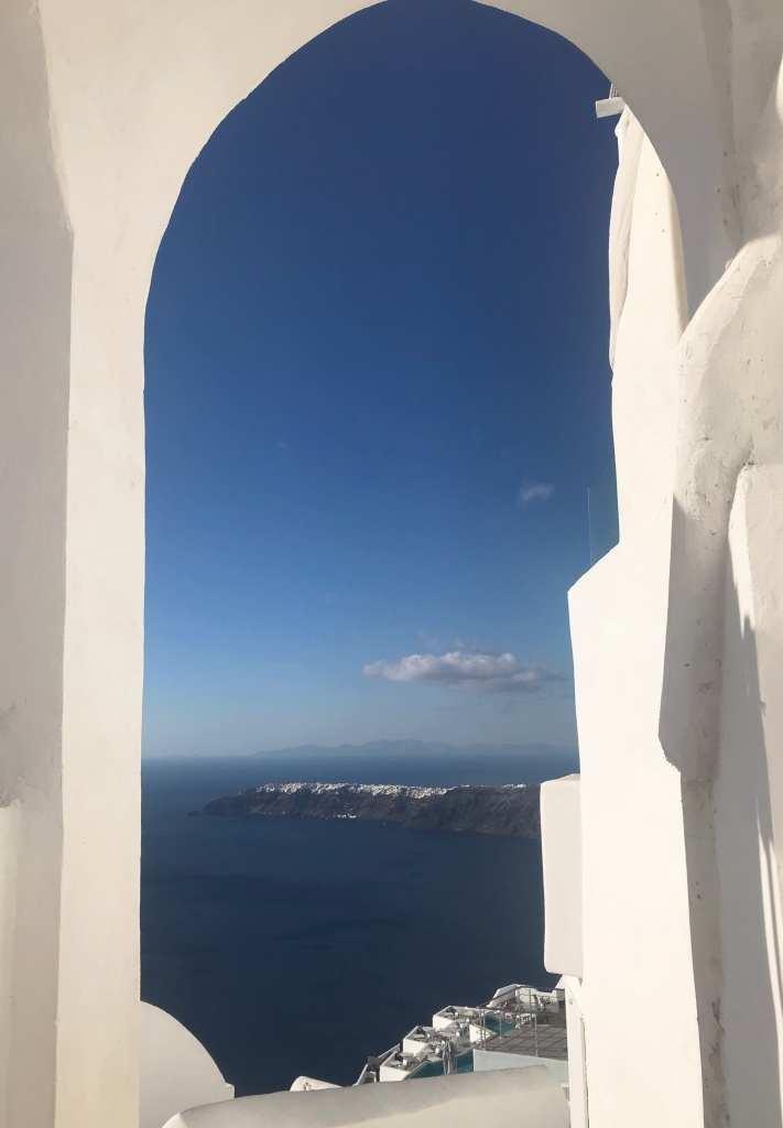 Traveling to Santorini alone
