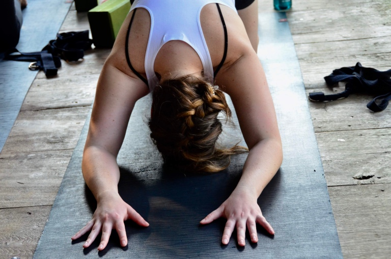 Yoga for solo travelers