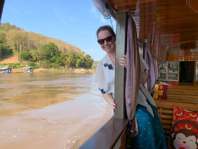 Traveling alone in Laos