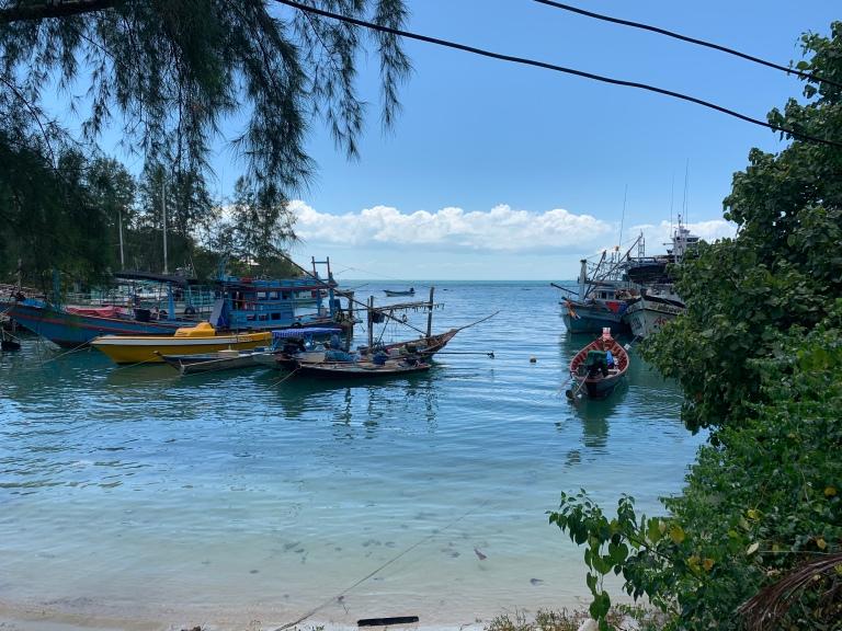 Koh Pangan Thailand fishing village