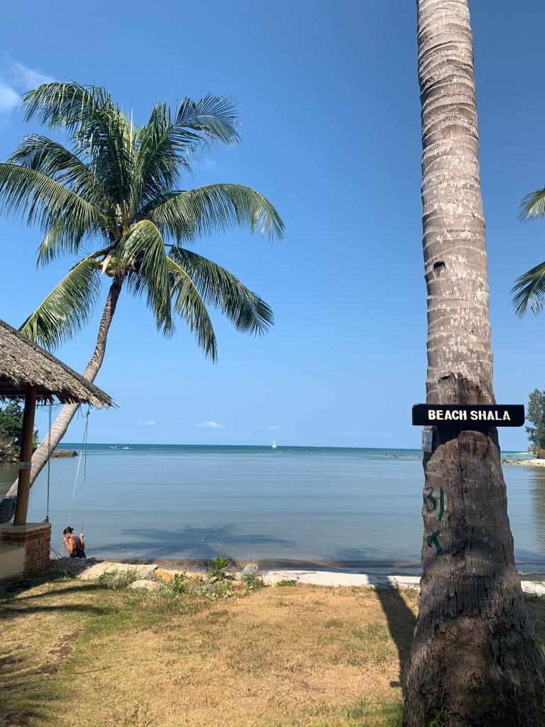 Koh Phangan beach in Thailand as a solo female traveler