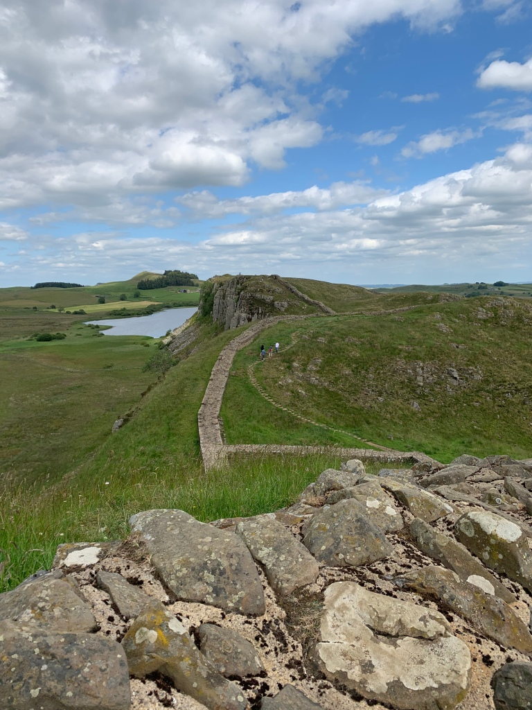 Hadrian's Wall walk in England ancient Romans in Britain