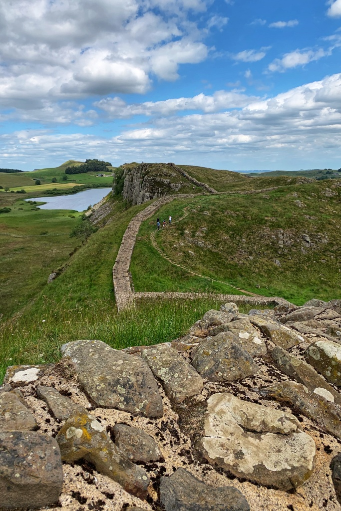 Walking Hadrian's wall in England as a woman alone Cumbria