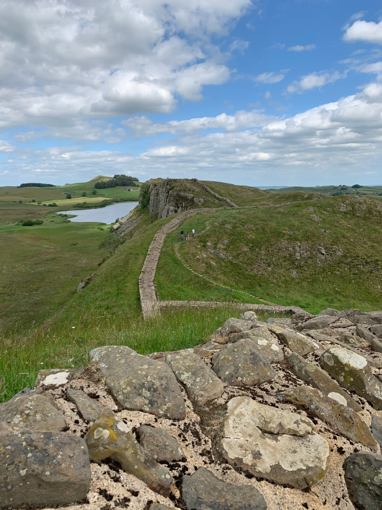 Walking Hadrian's wall in the north of England alone